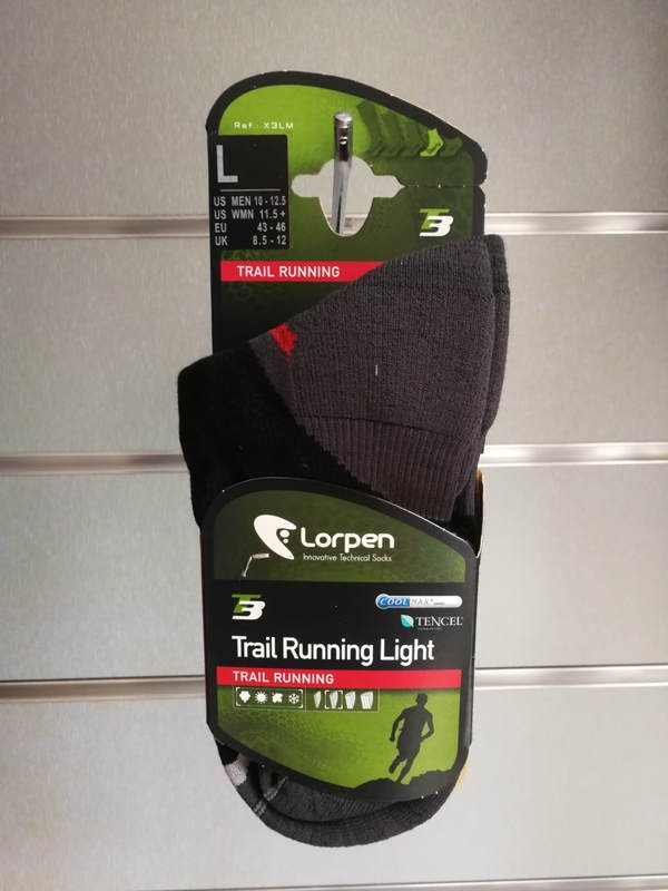 Par Calcetines LORPEN TRAIL RUNNING LIGHT